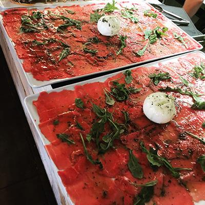 Restaurant 7/7 Chez Yvonne A Balma – Carpaccio de boeuf sur place et à emporter